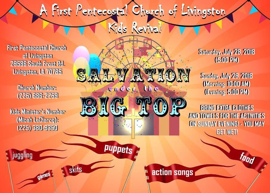 Salvation Under The Big Top